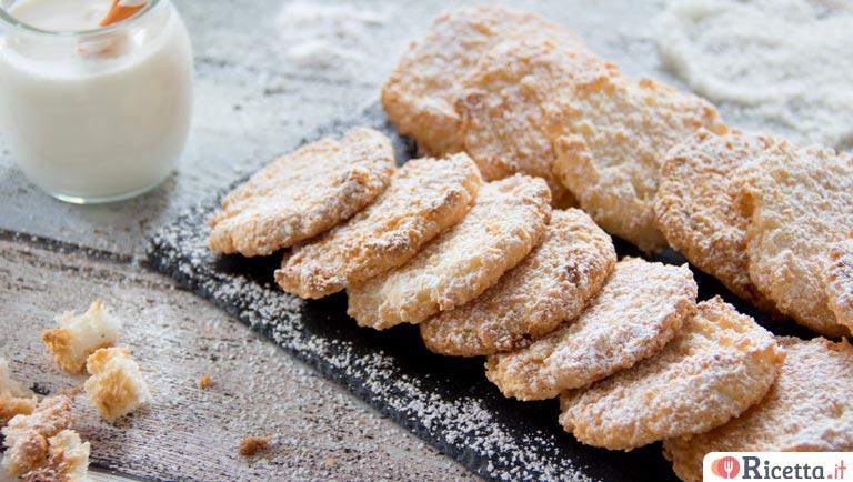 Ricetta biscotti al cocco light