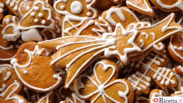 Biscotti allo zenzero di Natale