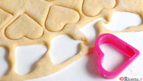 Ricetta biscotti di san valentino for Pensierini di san valentino