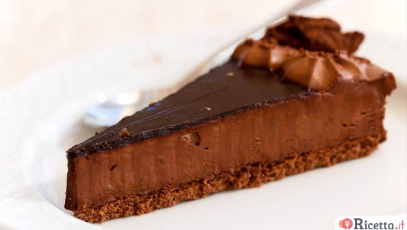 Cheesecake al cioccolato facile