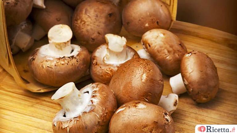 come cucinare i funghi