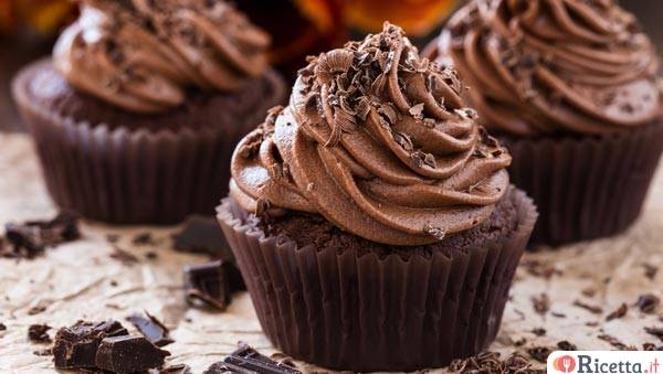 Crema al cioccolato per cupcake bimby