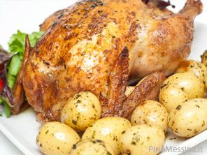 come fare il pollo al forno