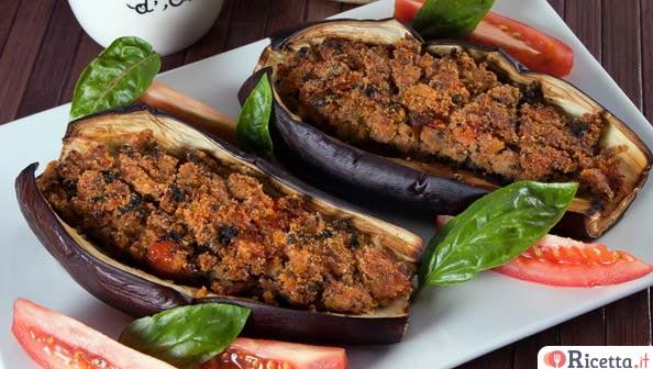 melanzane ripiene in 3 varianti | ricetta.it - Come Cucinare Le Melanzane Ripiene