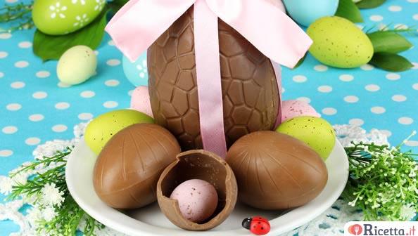 Decorare le uova di pasqua di cioccolato - Decorare uova di pasqua ...