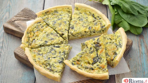 Come fare 2 torte salate di verdure