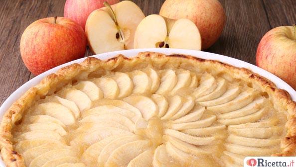 Torta di mele 10 modi per prepararla for Crostata di mele