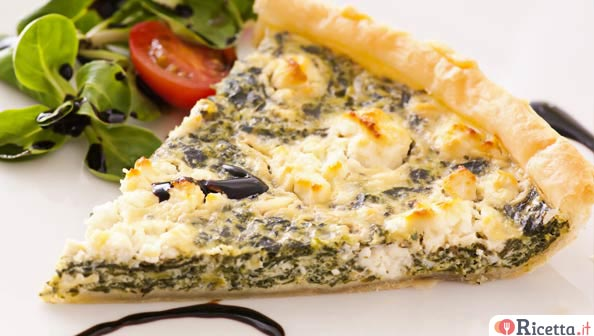 Come fare una quiche di spinaci