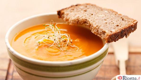 Zuppa di carote e zucca