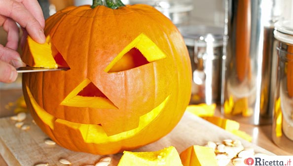 Come decorare una zucca di Halloween