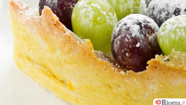 Come fare una crostata d'uva