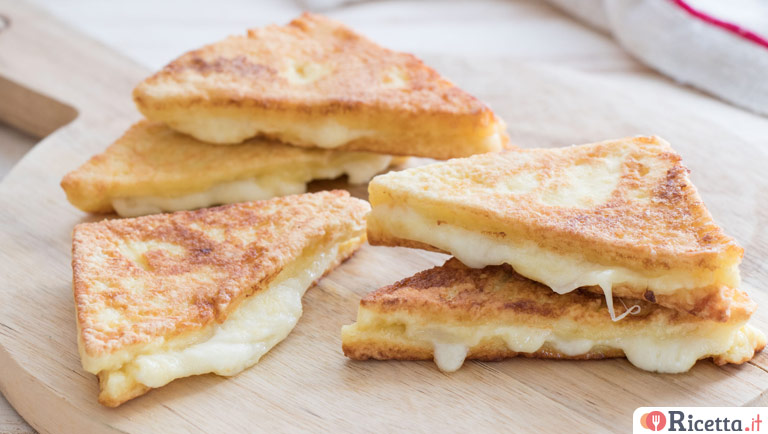 Come fare la mozzarella in carrozza