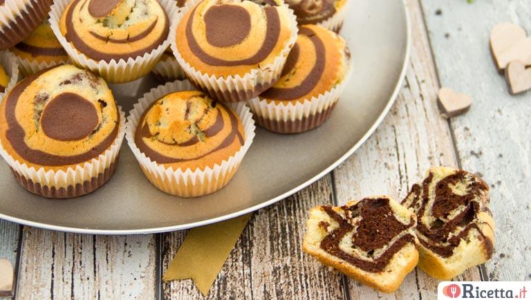 Super Ricetta Muffin zebrati | Ricetta.it VG27