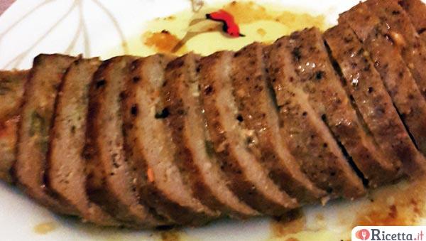 Ricette polpettone di carne con verdure