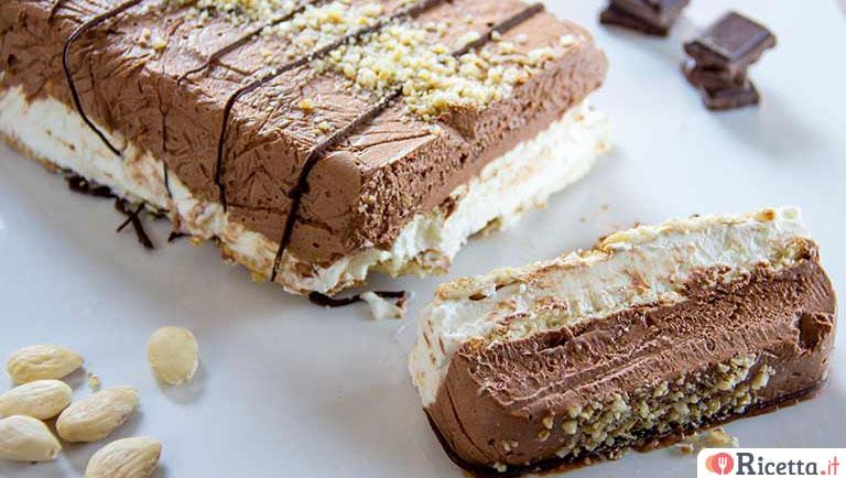 Molto Ricetta Semifreddo panna e cioccolato | Ricetta.it QY68