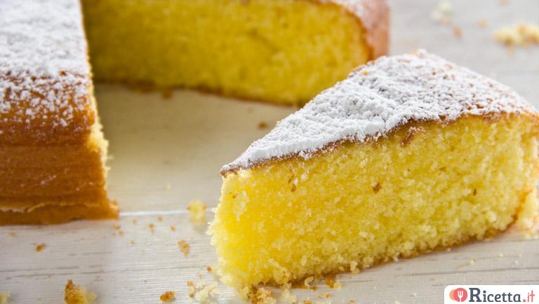 Ricetta torta margherita per 12 persone
