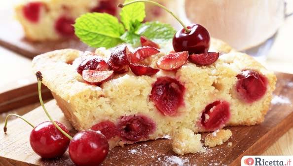 Ricetta muffin alle ciliegie for Ricette bimby dolci