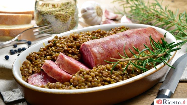 Come fare il dado con il bimby - Come cucinare le lenticchie con cotechino ...