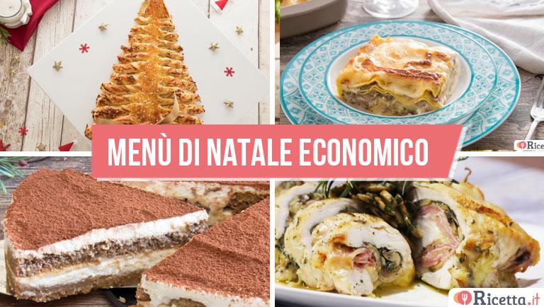 Menù di Natale economico