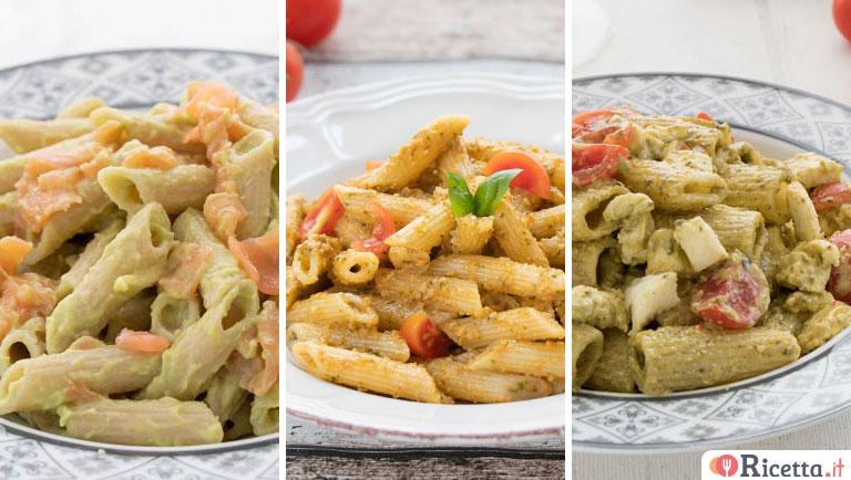 Ricetta pasta fredda con verdure e pinoli for Ricette per pasta