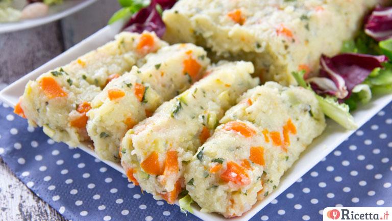 Ricetta polpettone ripieno for Ricette di verdure