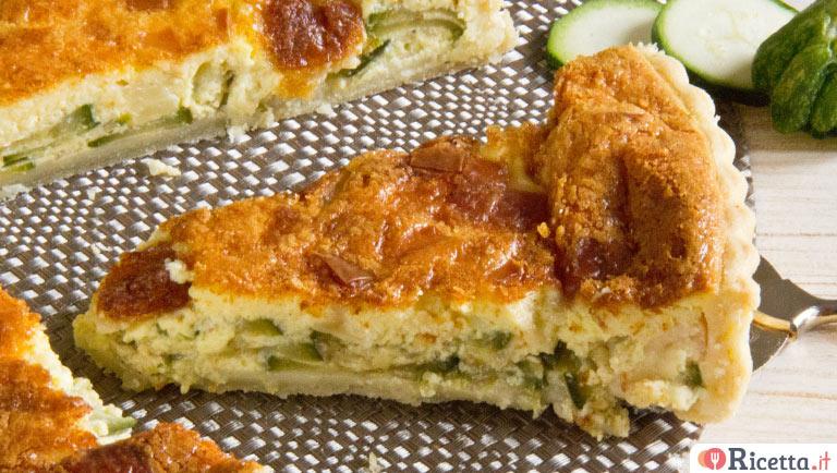 Ricetta torta salata di zucchine consigli e ingredienti for Torte salate facili